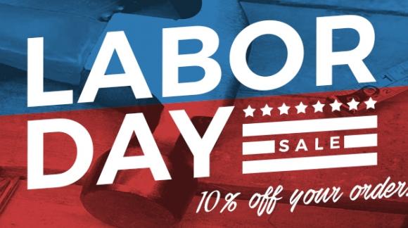 Labor Day Sale 2016